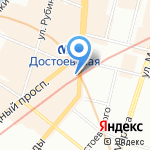 Вавилон на карте Санкт-Петербурга