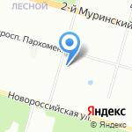 Магазин живого пива на карте Санкт-Петербурга