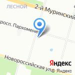 Государственный фонд развития Северо-Запада на карте Санкт-Петербурга