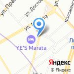 Любакс на карте Санкт-Петербурга