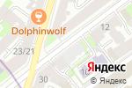 Схема проезда до компании Теллур-ТМ в Санкт-Петербурге