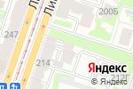 Схема проезда до компании ЭКСТРАДЭН в Санкт-Петербурге