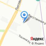 Авто Спутник на карте Санкт-Петербурга