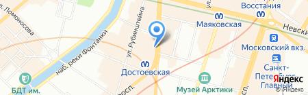 Адония Груп на карте Санкт-Петербурга