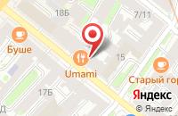 Схема проезда до компании Производственная компания  в Санкт-Петербурге