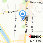 Real на карте Санкт-Петербурга