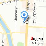 Тадис на карте Санкт-Петербурга