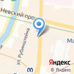 Hogl на карте Санкт-Петербурга