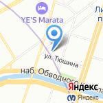 Модный Дом Солдатовой Натальи на карте Санкт-Петербурга