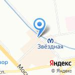 Свежее мясо на карте Санкт-Петербурга