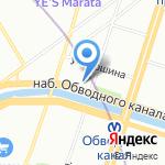ХукахШоп на карте Санкт-Петербурга