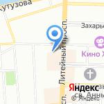Наши Деньги на карте Санкт-Петербурга