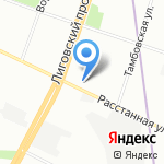 ПЭТКОМ на карте Санкт-Петербурга