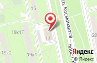 Схема проезда до компании Денди в Санкт-Петербурге