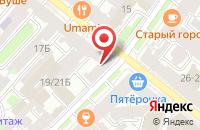 Схема проезда до компании Две Столицы в Санкт-Петербурге