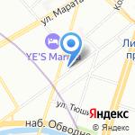 Твое ателье на карте Санкт-Петербурга