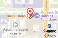 Схема проезда до компании Крокус в Санкт-Петербурге