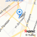 Lingvostudia на карте Санкт-Петербурга