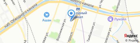 Поварешкин на карте Санкт-Петербурга