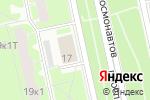 Схема проезда до компании Мишель в Санкт-Петербурге