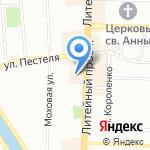 Консул на карте Санкт-Петербурга