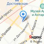 Топаз на карте Санкт-Петербурга
