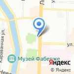 Межрегиональная инспекция Федеральной налоговой службы по крупнейшим налогоплательщикам №8 на карте Санкт-Петербурга