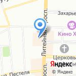 Гомеопатический центр Доктора Лазаревой на карте Санкт-Петербурга