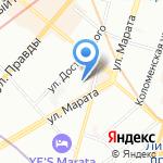Суп Харчо на карте Санкт-Петербурга