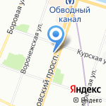 RPGMEDIA на карте Санкт-Петербурга
