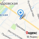 Библиотека №7 на карте Санкт-Петербурга