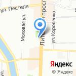 ОЛМА Медиа Групп на карте Санкт-Петербурга
