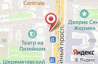 Схема проезда до компании Кельвин в Санкт-Петербурге