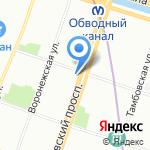 АСД-Адтрон на карте Санкт-Петербурга