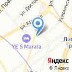 Союз Ветеранов Милиции на карте Санкт-Петербурга