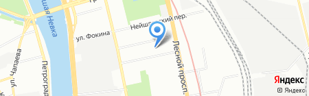 HAPPYNESS на карте Санкт-Петербурга