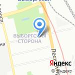 Триумфальная Марка на карте Санкт-Петербурга