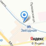 Киоск по продаже сухофруктов на карте Санкт-Петербурга