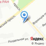 Гранит на карте Санкт-Петербурга