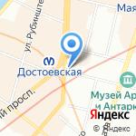 Иконная лавка на карте Санкт-Петербурга