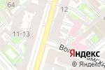 Схема проезда до компании КиК-софт в Санкт-Петербурге