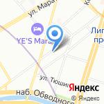 Губернаторский оркестр г. Санкт-Петербурга на карте Санкт-Петербурга
