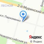 Линия здоровья на карте Санкт-Петербурга