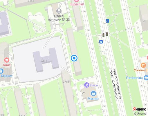 Жилищно-строительный кооператив «Радист» на карте Санкт-Петербурга
