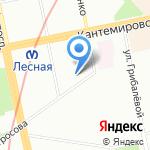 УниверсалСнаб на карте Санкт-Петербурга