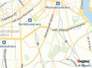 Аренда офиса 83.9 м2, метро Обводный Канал