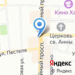 Питерский портной на карте Санкт-Петербурга