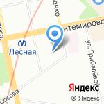 Альтпринт на карте Санкт-Петербурга