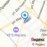 АМИДЕНТ на карте Санкт-Петербурга