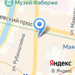 Katerina Kostrigina на карте Санкт-Петербурга
